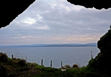 West Island Way cave south of Kilchattan Bay
